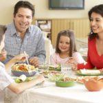 Comidas en familia, ¡la mejor manera de comenzar!