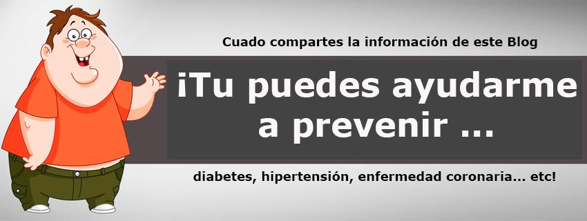 Pandates, Tu puedes ayudarme a prevenir enfermedades